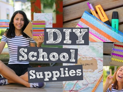 DIY School Supplies #btsJusuf