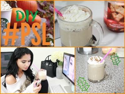 ♡ DIY Starbucks Pumpkin Spice Latte | Quick &Easy |