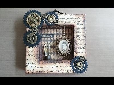 DIY: Steampunk Shadow Box - Treasure You