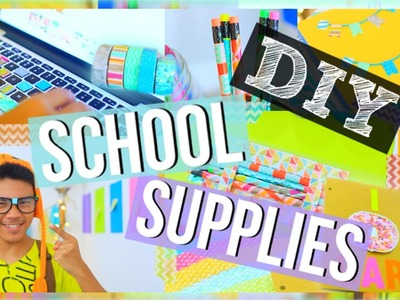 Easy DIY School Supplies That You Need To Try!
