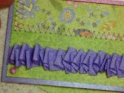 Easy Wrinkled Ribbon Tutorial