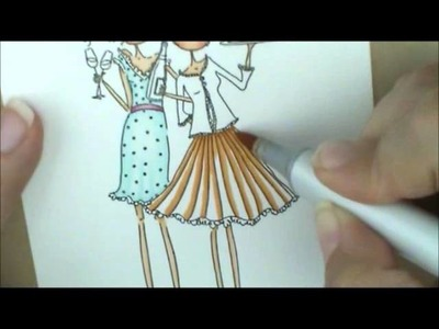 Felicity & Blair Copic Coloring Card Kit