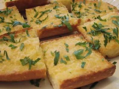 Garlic Bread Recipe - Aioli Garlic Bread