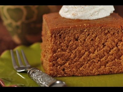 Gingerbread Cake Recipe Demonstration - Joyofbaking.com
