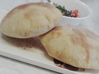 Homemade Pita Bread and Pita Pockets - Video Recipe by Bhavna