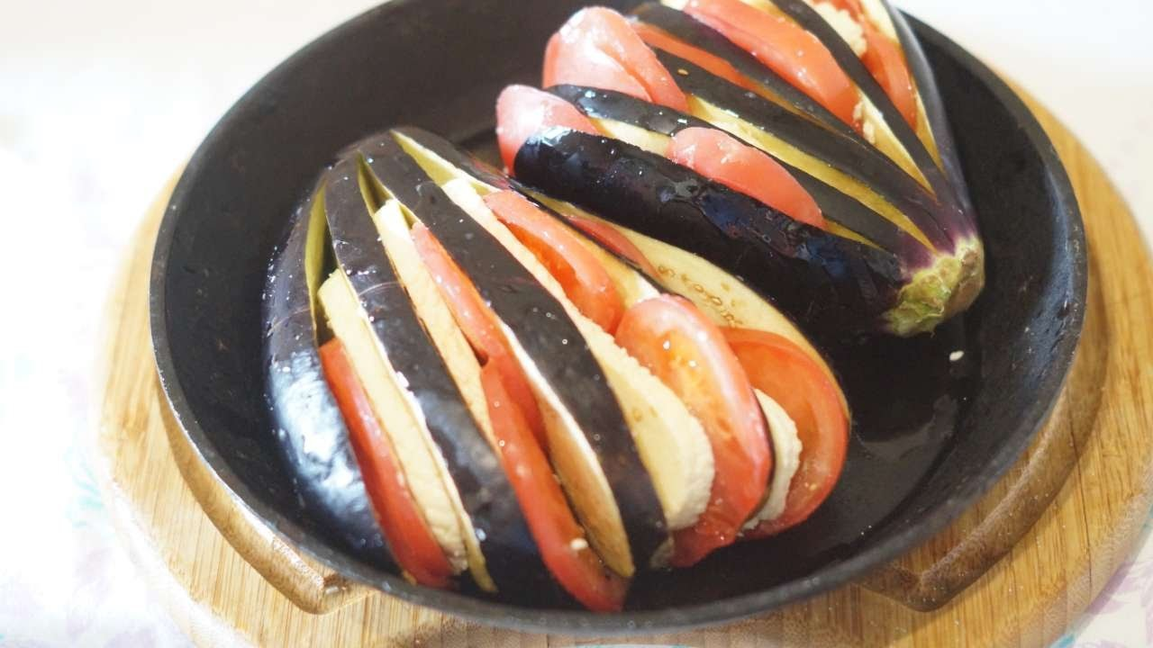 How To Baked Eggplant With Tomatoes And Cheese. - DIY Food & Drinks Tutorial - Guidecentral