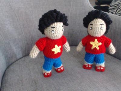 How to Crochet Steven from Steven Universe 2.4