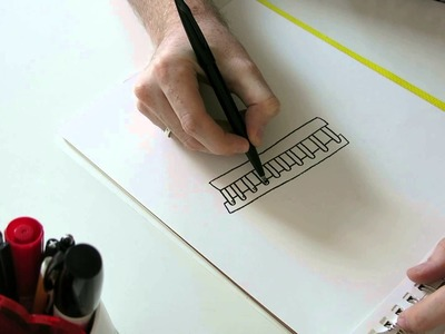 How To Draw A Ladder (Sort Of)