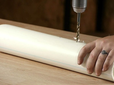 How to Drill Holes in PVC : Water Pipes & Plumbing