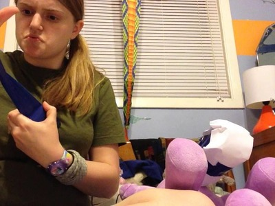 How to make a cast for a stuffed animal