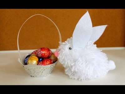 How to make a doily-trimmed Easter basket