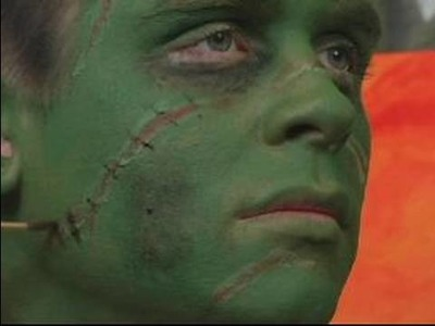 How to Make a Frankenstein Costume for Halloween : Face Stitches for Frankenstein Halloween Costume
