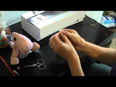 How to Make a Hair Bow for a Stuffed Animal