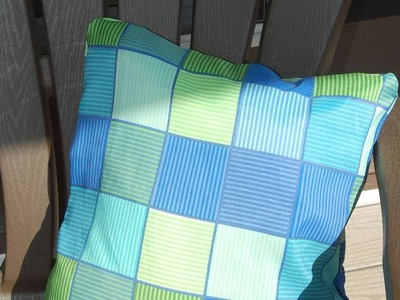 How To Make Inexpensive No Sew Outdoor Pillows - DIY Home Tutorial - Guidecentral