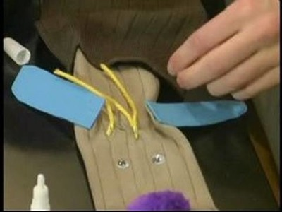 How to Make Sock Puppets : Making Clothing for a Sock Puppet