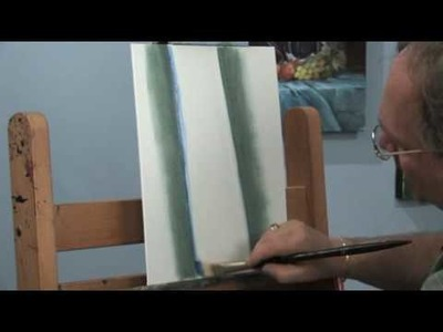 How to Paint Lakeside Birch Trees