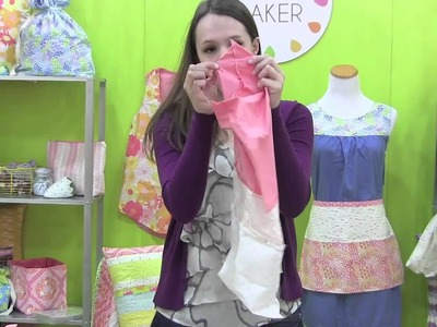 How to Put a Gusset on a Bag - Jeni Baker - Fall Quilt Market 2013