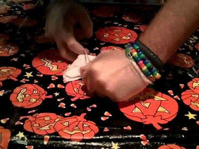How to Tie Dye Tapestry - Free Folding