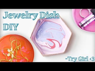 Jewlery Dish DIY - Try Girl Ep1   Sunny DIY