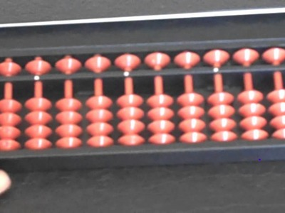 Learning Abacus - Tutorial II (Basic Addition)