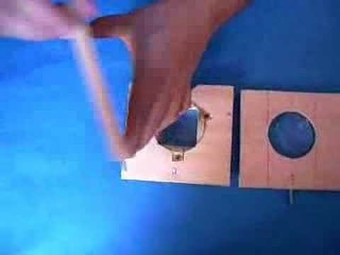 Make a slide projector using commonly available materials