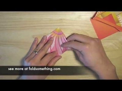 Make custom origami book marks from the square base