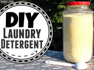 Make Your Own Laundry Detergent | DIY