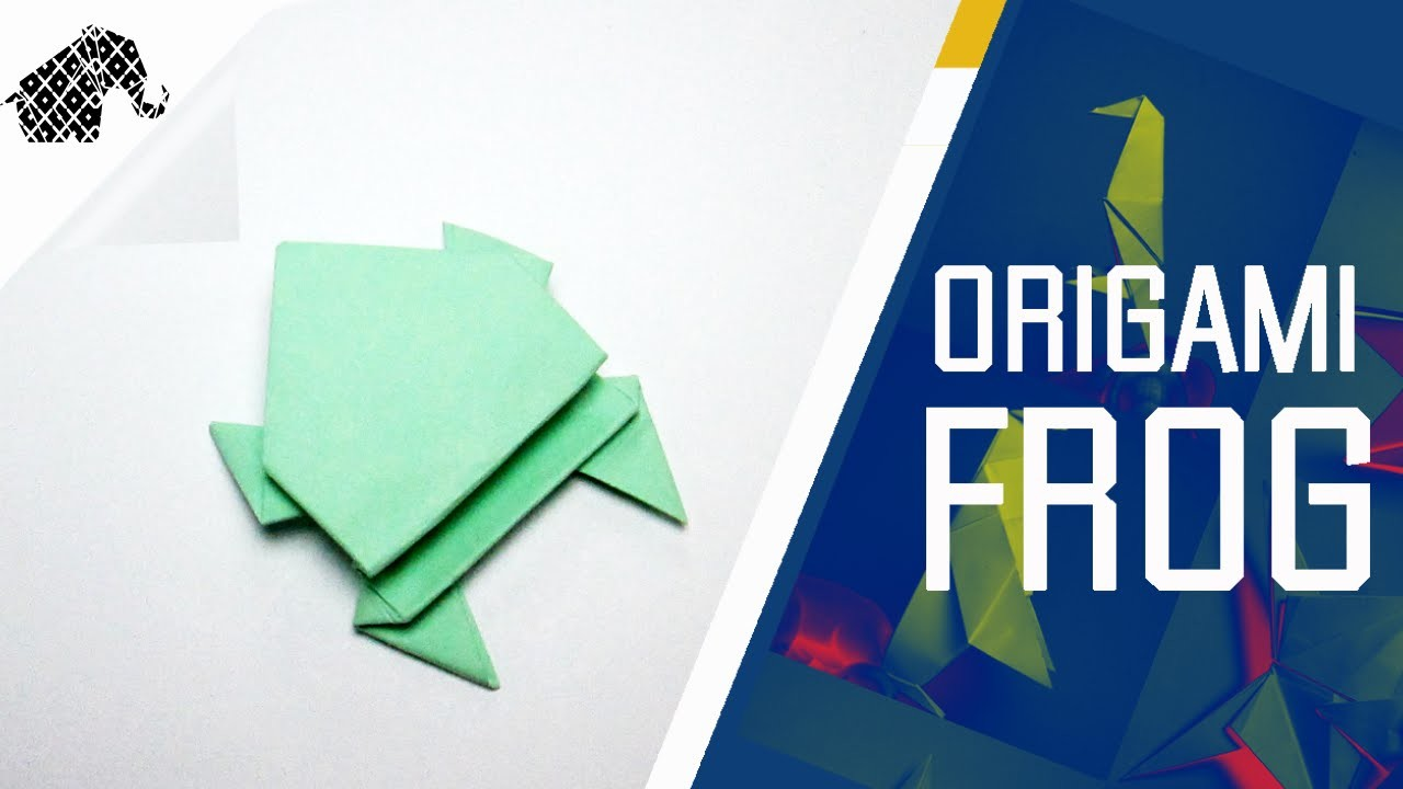 Origami - How To Make An Origami Frog