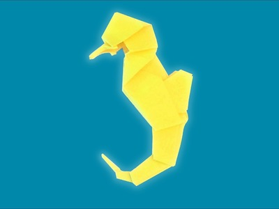 Origami Seahorse Instructions