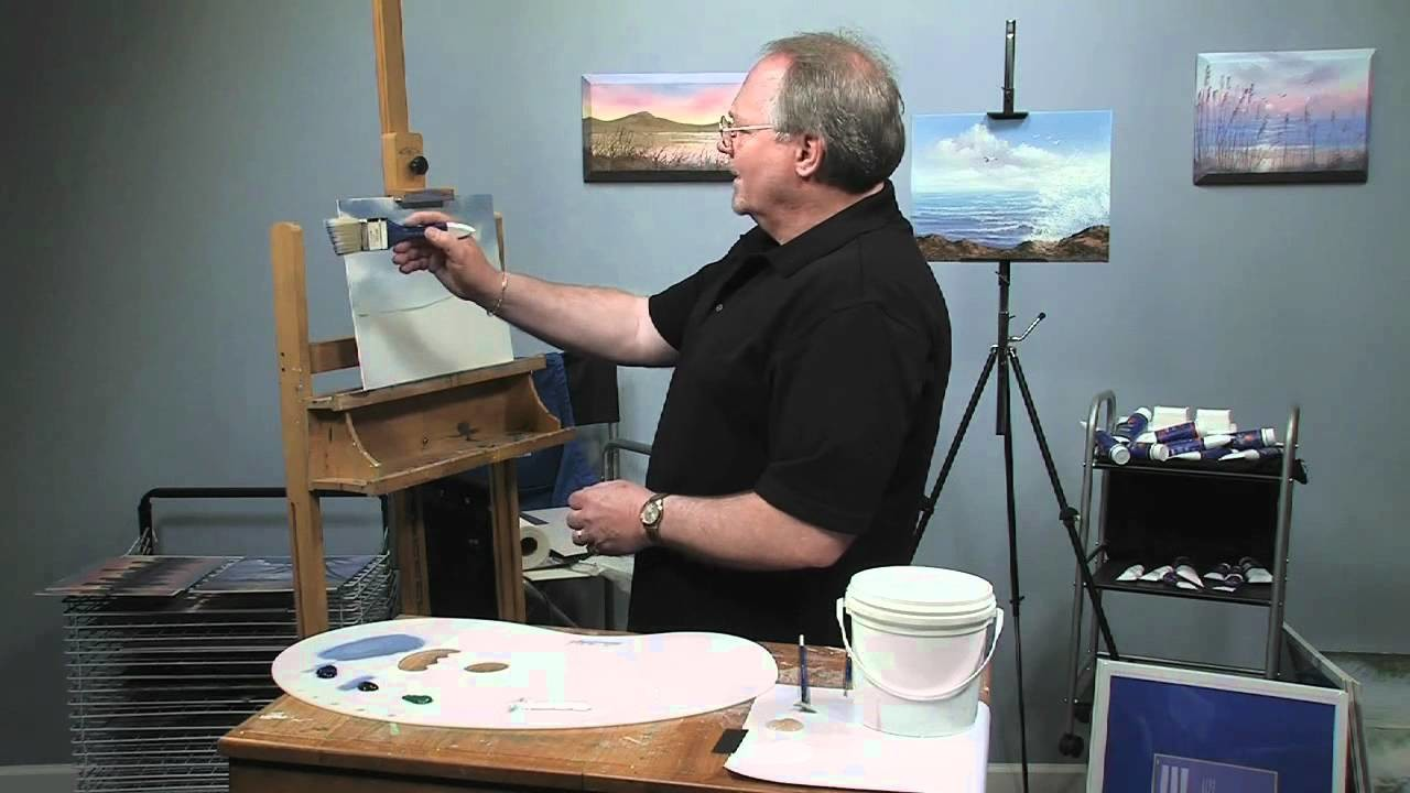 Paint-Along: How to Paint a Winter Scene in Oils, Part 1