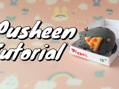 Pusheen in a Pizza Box Tutorial (inspired by the Pusheen Stickers)