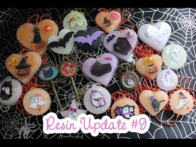 Resin Update #9 - Halloween!