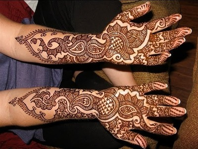 Simple and Easy to do Bridal Mehndi Henna Art : Learn Traditional Indian Bridal Henna