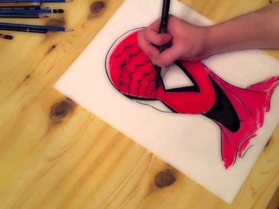Speed Drawing: Spiderman