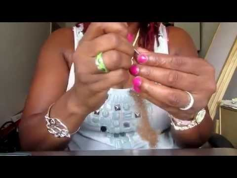 Tutorial: How To Make Loc Extentions Using Human Hair