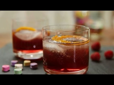 Valentine's Recipes - How to Make the Scarlet Kiss Cocktail