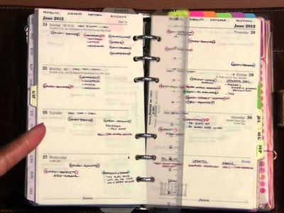 Ways of a Filofax (Part 2) - The Priority Calendars
