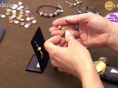 Artbeads Mini Tutorial - Wire Swirl Earrings with Tracy Gonzales from TierraCast