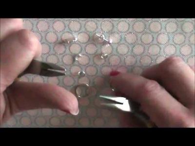 Basic Ring Dangle Earrings Tutorial