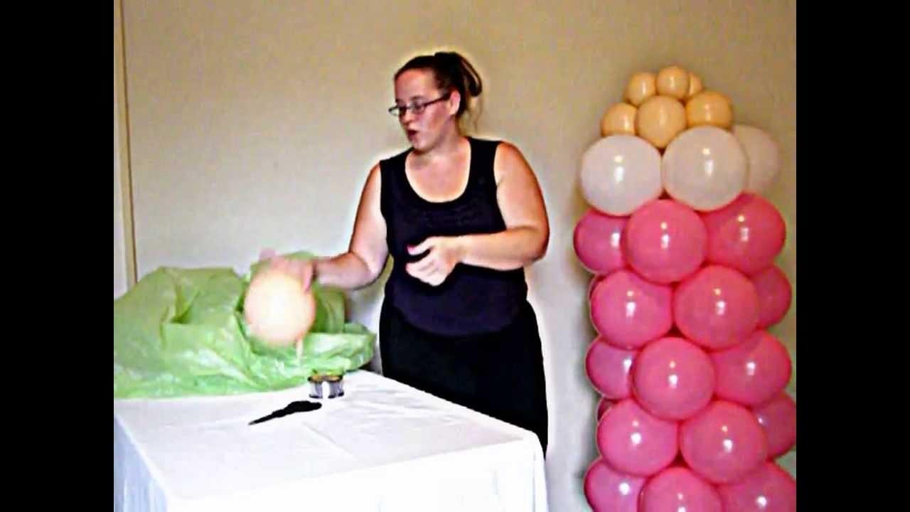 Bottle Balloon Column