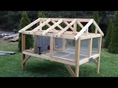 Canadian rabbit hutch - PART ONE