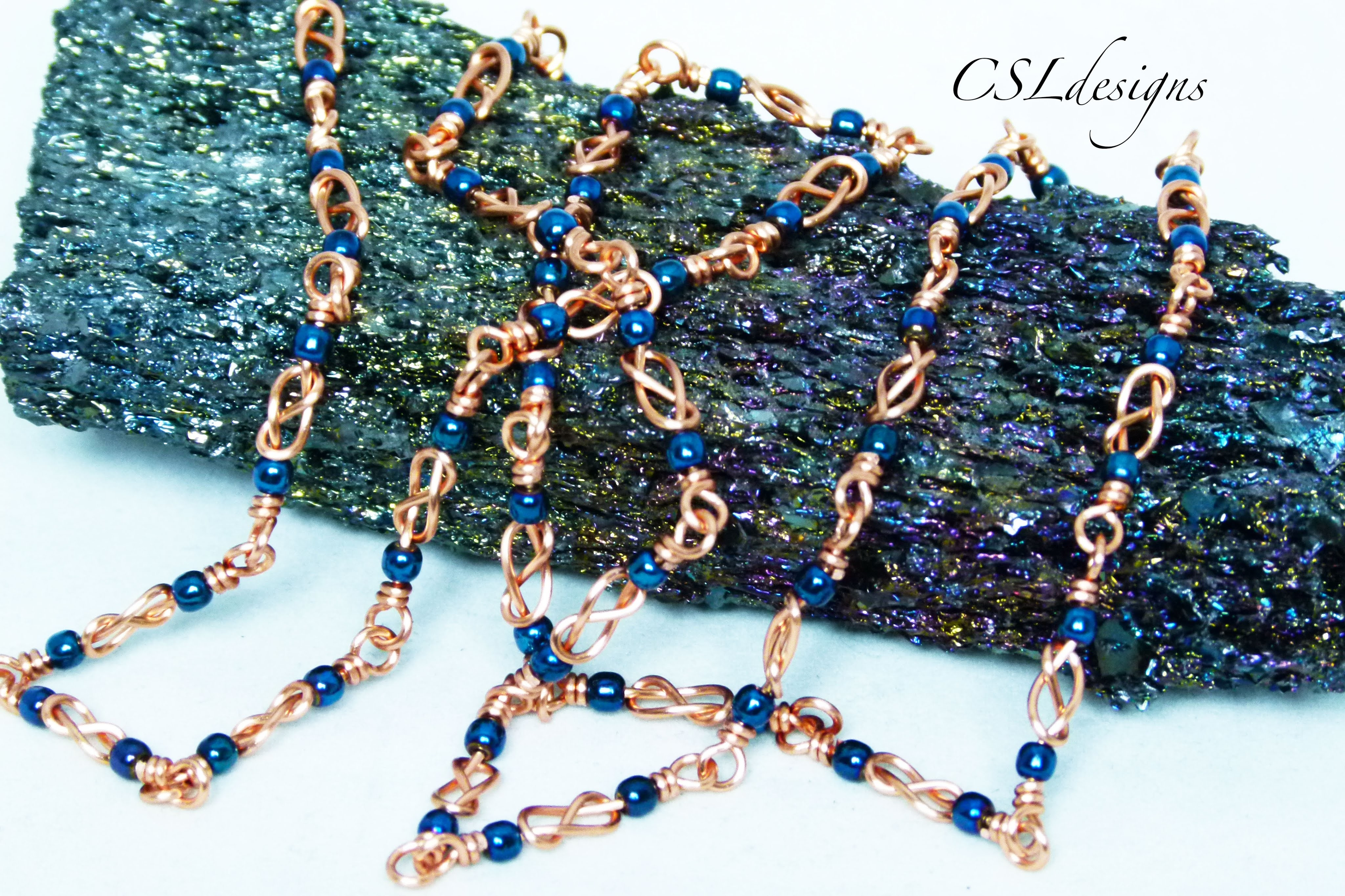 Celtic knot wirework chain ⎮ Make your own chain series