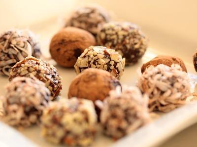 Chocolate Truffle Recipe || KIN EATS