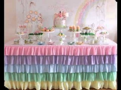 DIY My little pony party decorating ideas