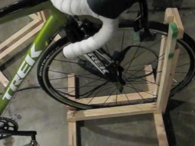 How to Build a Bike Stand (make a Bike Rack) CHEAP! $2-$5