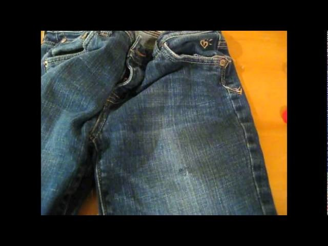 How to Cut and Fray Jeans