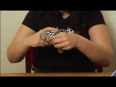 How to Make a Monkey Sock Puppet : How to Flip the Tail of a Monkey Sock Puppet