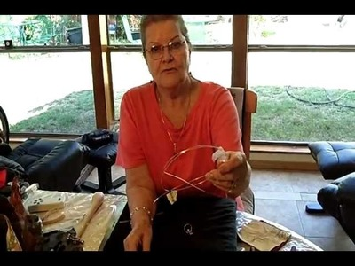 How to Make a Silver Wire Wrapped Ring (1 of 2)