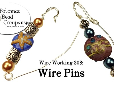 How to Make Beaded Wire Pins (Wire Working 303)