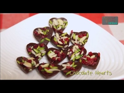 How To Make Chocolate Hearts By Asha Khatau || #BeMyValentine